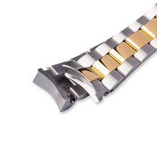 Load image into Gallery viewer, SB0628 SKX007 Oyster Bracelet - Two-Tone Silver/Gold Finish