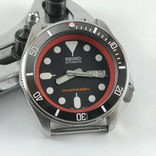 Load image into Gallery viewer, SKX007 Sub Red Ceramic Bezel Insert - Watch&Style