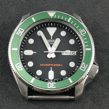 Load image into Gallery viewer, SKX007 Sub Green Aluminum Bezel Insert - Watch&Style