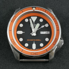 Load image into Gallery viewer, SKX007 Orange P.O Aluminum Bezel Insert - Watch&Style