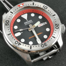 Load image into Gallery viewer, SKX Red - SKX007 Stainless Bezel Insert - Watch&Style