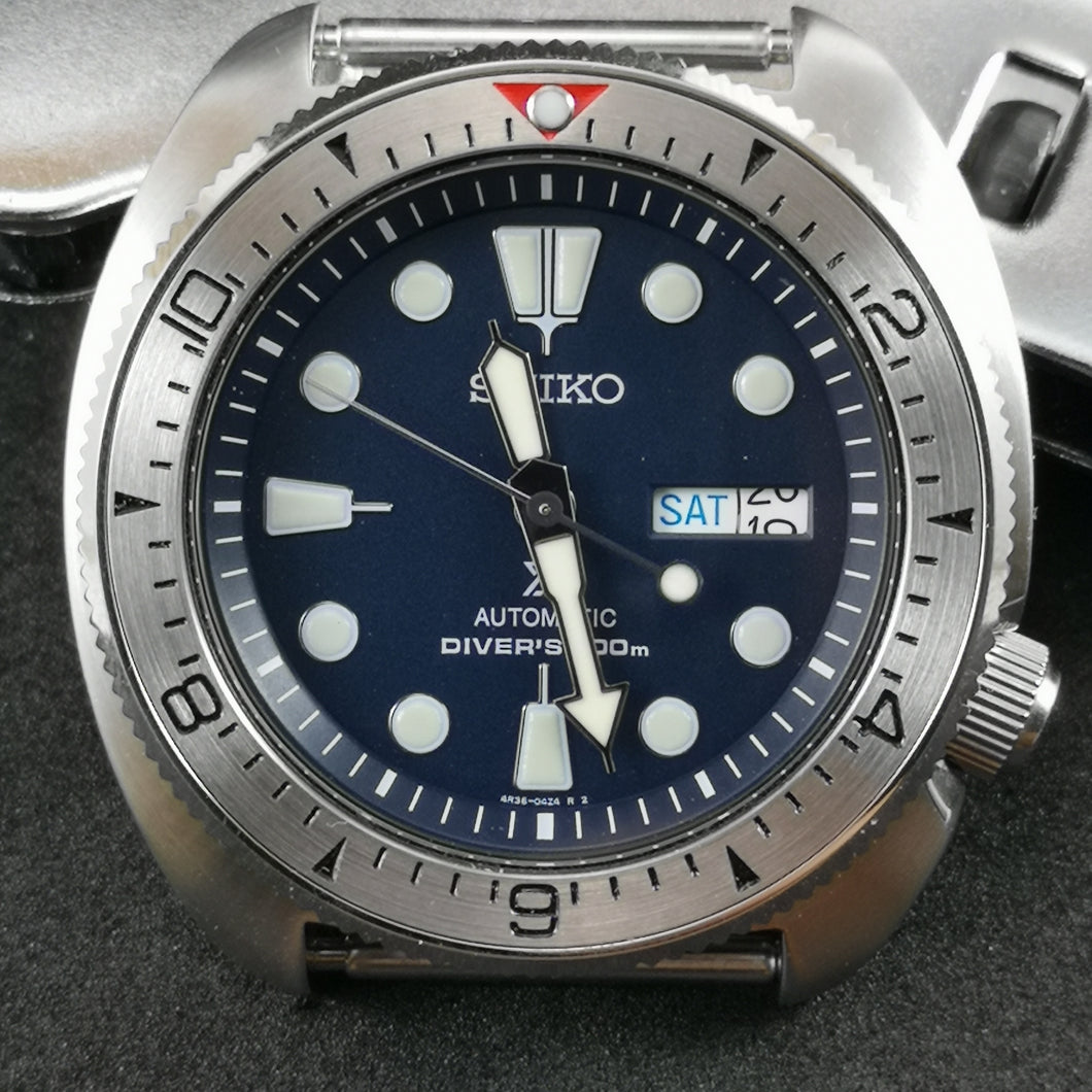 SRP Turtle Re-issue Stainless Bezel Insert - SSSMRED003 - Watch&Style