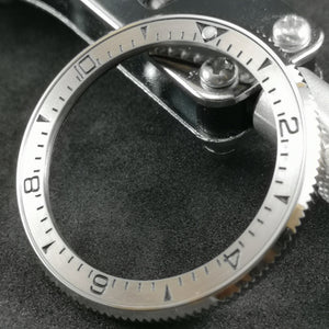 SRP Turtle Re-issue Stainless Bezel Insert - SSSMBLACK004 - Watch&Style