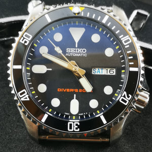 SKX007 Sub Yellow 12hour Ceramic Bezel Insert - Watch&Style