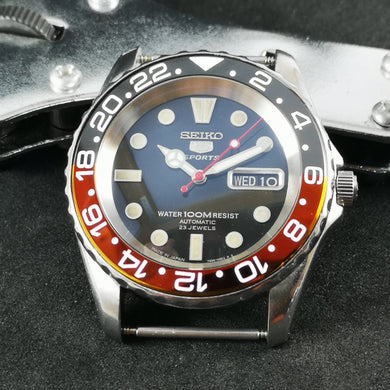 SNZF17 Coke GMT Ceramic Bezel Insert - Watch&Style