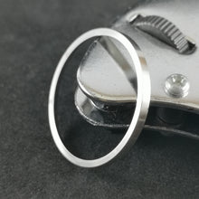 Load image into Gallery viewer, SKX007 Chapter Ring-Polished Silver - Watch&Style