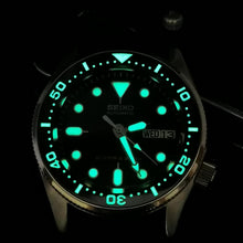 Load image into Gallery viewer, CI0044 SKX013 Ceramic Bezel Insert - Flat Lumed SKX Style