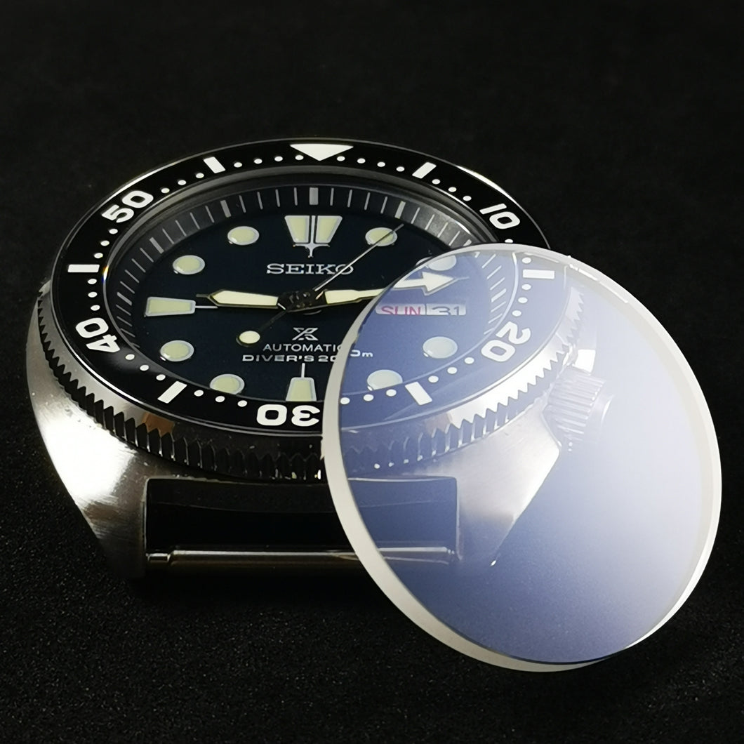 G0353 SRP Turtle Reissue Flat Sapphire Crystal
