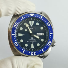 Load image into Gallery viewer, SRP Turtle Re-issue Ceramic Bezel Insert - Blue SRP Style