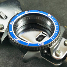 Load image into Gallery viewer, AI0080 SKX007  Aluminum Bezel Insert - Blue PO Style