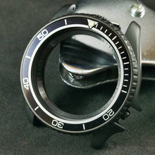 Load image into Gallery viewer, AI0073 SKX007 Aluminum Bezel Insert - Black PO Style