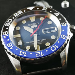 SNZF17 Batman GMT Ceramic Bezel Insert - Watch&Style
