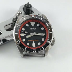 SKX007 Chapter Ring-Red with Minute Marker - Watch&Style