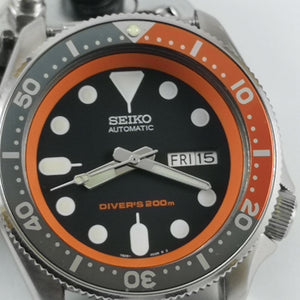 SKX007 Chapter Ring - Orange - Watch&Style
