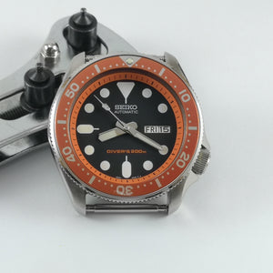 SKX007 Chapter Ring - Orange with Minute Marker - Watch&Style