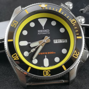 SKX007 Chapter Ring-Yellow - Watch&Style