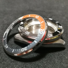 Load image into Gallery viewer, SKX007 Orange Gray Aluminum Bezel Insert - Watch&Style