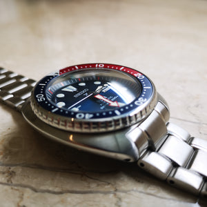Turtle Reissue Double Dome Sapphire Crystal - Watch&Style