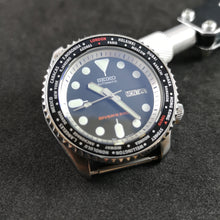 Load image into Gallery viewer, SKX007 Black World Time Aluminum Bezel Insert - Watch&Style