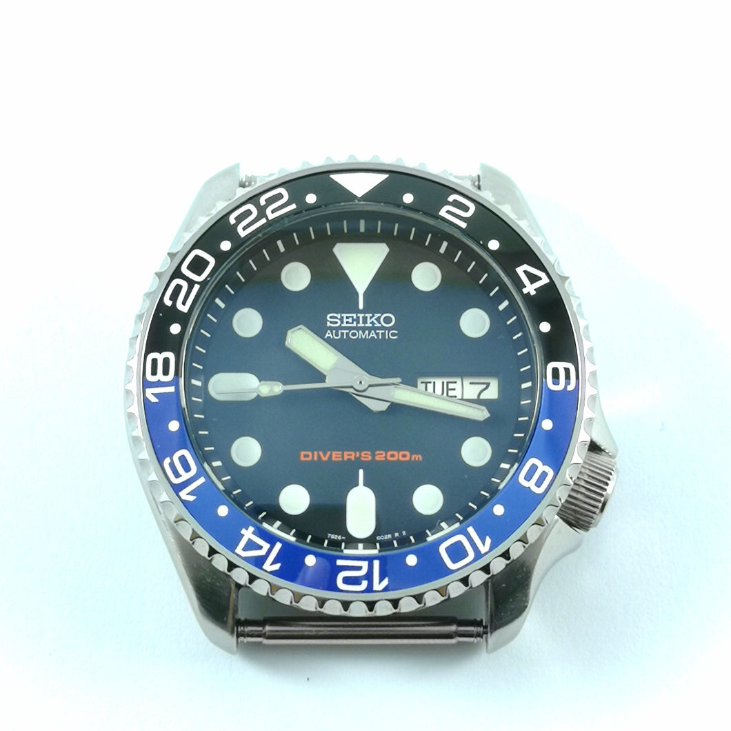 SKX007 Batman GMT Ceramic Bezel Insert - Watch&Style