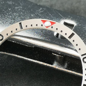 SRP Turtle Re-issue Stainless Bezel Insert - SRP Red - Watch&Style