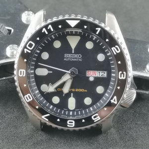 SKX007 Luminous Dual Time Ceramic Bezel Insert - Watch&Style