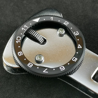 SRP Turtle Re-issue Ceramic Bezel Insert - Dual Time - Watch&Style