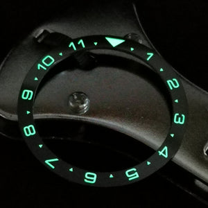 SRP Turtle Re-issue Ceramic Bezel Insert - Lume Dual Time - Watch&Style