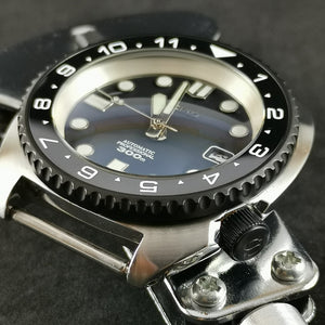 SRP Turtle Re-issue Matte Black Sub Style Bezel - Watch&Style
