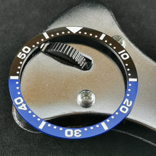 Load image into Gallery viewer, SKX007 Flat Ceramic Bezel Insert - Batman SKX Style - Watch&Style