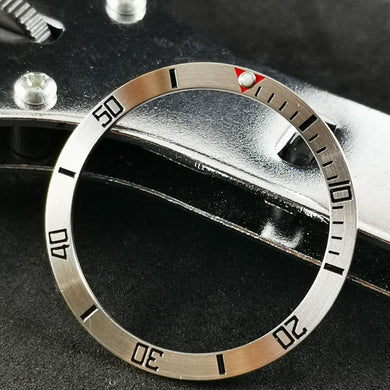 SI0087 SKX007 Stainless Bezel Insert - Sub Style Red 12