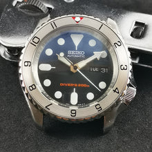 Load image into Gallery viewer, SKX007 Stainless Bezel Insert - Dual Time II Red