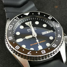 Load image into Gallery viewer, CI0040 SKX013 Ceramic Bezel Insert - Lumed DT