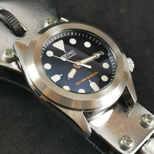 Load image into Gallery viewer, R0165 SKX013 Pilot Style Rotating Bezel - Brushed Finish