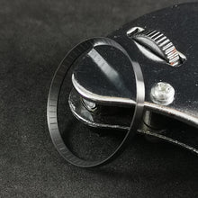Load image into Gallery viewer, C0197 SKX007 Chapter Ring-Brushed Black with Laser Etched Marker