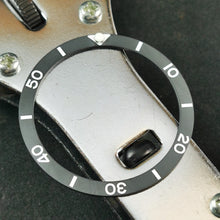 Load image into Gallery viewer, CI0013 SKX007 Vintage Sub Style Ceramic Bezel Insert - Sandblasted
