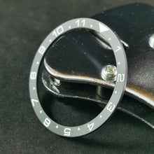 Load image into Gallery viewer, CI0021 SKX007 Dual Time Ceramic Bezel Insert - Sandblasted