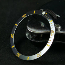 Load image into Gallery viewer, SKX007 Sub Style Ceramic Bezel Insert - Gold
