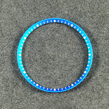 Load image into Gallery viewer, C0186 SKX007 Chapter Ring - Light Blue with White Marker
