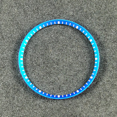 SKX007 Chapter Ring - Light Blue with Marker