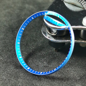 SKX007 Chapter Ring - Light Blue with White Marker