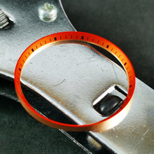 Load image into Gallery viewer, C0188 SKX007 Chapter Ring - Orange with Black Marker