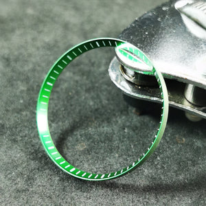 C0184 SKX007 Chapter Ring - Green with Marker