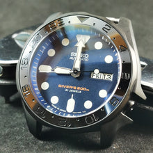 Load image into Gallery viewer, SKX007 Stealth GMT Ceramic Bezel Insert