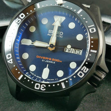 Load image into Gallery viewer, CI0033 SKX007 SKX Style Ceramic Bezel Insert