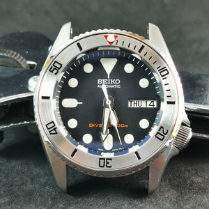 SI0119 SKX013 Stainless Bezel Insert - Sub Style Red