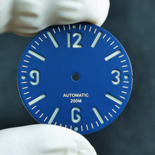 Load image into Gallery viewer, D0231 Sandwich Dial - Matte Blue