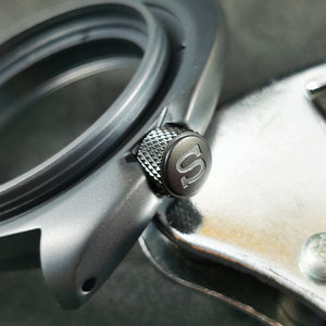 CN0476 Turtle Re-issue Knurled Crown - Matte Black