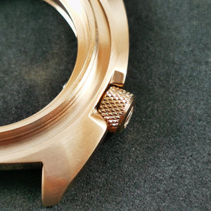 CN0475 SRP Turtle Re-issue Knurled Crown - Polished Rose Gold
