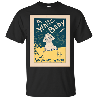 72cb43385 Artist Posters 0022 A white baby by James Welsh T-Shirt